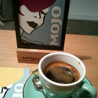 Photo taken at Mojo Coffee 神楽坂店 by Mikimasa N. on 1/2/2013
