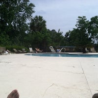 Photo taken at Hoover Creek Pool by Corey A. on 5/10/2014