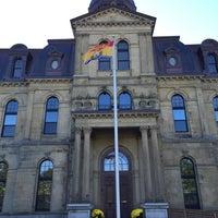 Photo taken at Provincial Legislative Building by Chris P. on 10/12/2014