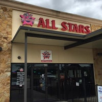 Photo taken at All Stars Family Grill by Mike P. on 4/9/2015