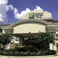 Photo taken at Holiday Inn Express & Suites Conroe I-45 North by Mike P. on 1/18/2016