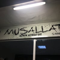 6/5/2017 tarihinde Nihatziyaretçi tarafından Musallat Konya Korku Evi'de çekilen fotoğraf