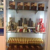 Photo taken at Lindt Chocolate Studio by Prashini M. on 5/4/2013