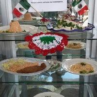Photo taken at Feria Chiles en Nogada Calpan 2014 by Rebeca H. on 8/17/2014