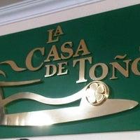 Photo taken at La Casa de Toño by Rubén E. on 4/14/2013