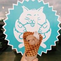 Photo taken at Fat Cat Creamery by Krystle M. on 4/13/2014