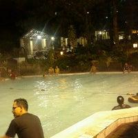 Photo taken at Pemandian Air Panas - Hotel Duta Wisata Guci by Anzi on 4/1/2013