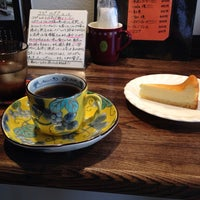 4/18/2014 tarihinde Yoriko M.ziyaretçi tarafından 喫茶去ベアフット'de çekilen fotoğraf