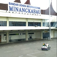 Photo taken at Minangkabau International Airport (PDG) by Rechian H. on 10/19/2012