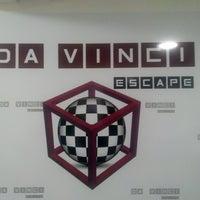 10/13/2015 tarihinde Bilge K.ziyaretçi tarafından Da Vinci Escape & Board Game Cafe'de çekilen fotoğraf