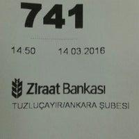 Photo taken at Ziraat Bankası by Emrah Ö. on 3/14/2016