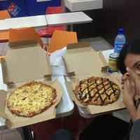Photo taken at Domino's Pizza by Syahir A. on 3/20/2016