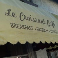 Photo taken at Le Croissant Cafe by Howard D. on 1/26/2013