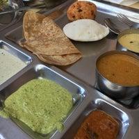 Photo taken at Saravanaa Bhavan by Christina Y. on 10/22/2017