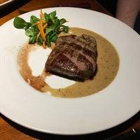 Photo taken at Steak House Liberec by Katie on 5/12/2017
