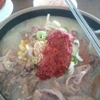 Photo taken at 표선오일시장 by park j. on 11/2/2012