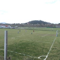 Photo taken at Campos De Futbol Las Minas by Ricardo I. on 3/28/2015