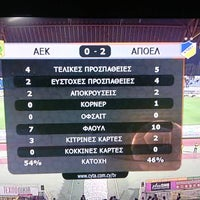 Photo taken at GSZ stadium by Apoel A. on 3/20/2016