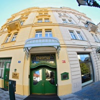 Photo taken at Hotel Haštal Prague Old Town by Hotel Haštal Prague Old Town on 7/28/2014