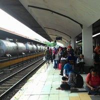 Photo taken at Stasiun Malang by Abie R. on 7/7/2015