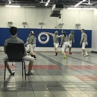 Photo taken at Capital National Fencing by Barbara D. on 2/28/2018