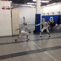 Photo taken at Capital National Fencing by Barbara D. on 8/8/2016