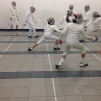 Photo taken at Capital National Fencing by Barbara D. on 1/31/2017