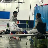 Photo taken at Capital National Fencing by Barbara D. on 5/9/2018