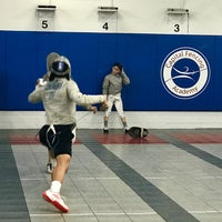Photo taken at Capital National Fencing by Barbara D. on 2/16/2018