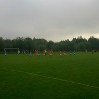 Photo taken at Voetbalvereniging DVV by Alexander B. on 9/13/2014