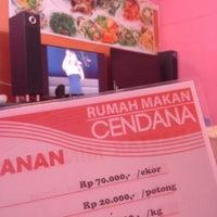 Photo taken at Rumah Makan Cendana by Petty L. on 6/28/2014