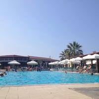 Photo taken at Poseidon Palace-Beach Bar by Kalypsis events entertainment on 7/9/2015