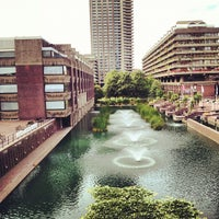 Photo taken at Barbican Centre by Em S. on 9/16/2012