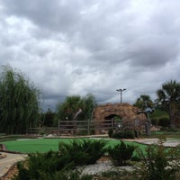 Photo taken at Mac N Bones Mini Golf by Brandi W. on 7/16/2012