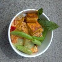Photo taken at Gai Gai Thai @ Kingfield Farmers Market by Michele on 6/3/2012