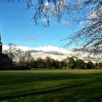 Photo taken at Platt Fields Park by Liam S. on 4/22/2012