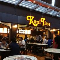 Photo taken at Kopi Time by Fash R. on 7/4/2012
