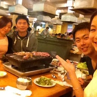 Photo taken at Sam Won BBQ House by Angel P. on 8/27/2012