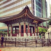 Photo taken at 고종 즉위 40년 칭경기념비 by kangdong on 7/30/2012