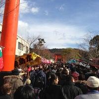 Photo taken at Fushimi Inari Taisha by K A. on 1/3/2013