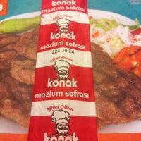 Photo taken at Konak Mazlum Restaurant by Ebru Y. on 5/18/2013