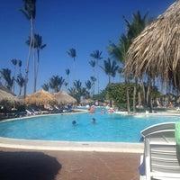 Photo taken at Pool Iberostar Punta Cana & Dominicana by Cristiano S. on 3/13/2013