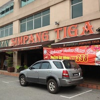 Photo taken at Restoran Simpang Tiga by Khairul Azuan Z. on 2/11/2013