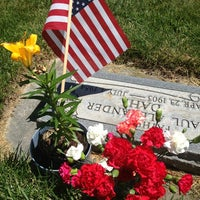 Photo taken at Midvale Cemetery by Kristy L. on 6/26/2013