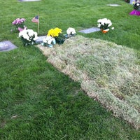 Photo taken at Midvale Cemetery by Kristy L. on 5/27/2013