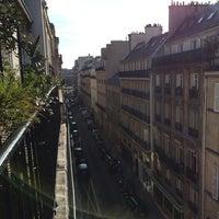 Photo taken at Hôtel Élysées Mermoz (L') by Bekir N. on 3/6/2014