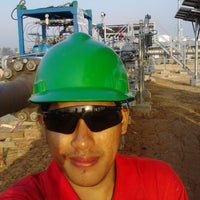 Photo taken at Connoco Philips Suban Gas Plant by Clement L. on 7/6/2015