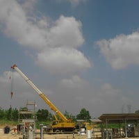 Photo taken at Connoco Philips Suban Gas Plant by Clement L. on 7/3/2015