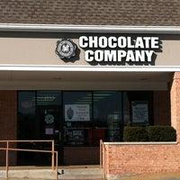Photo taken at Chocolate Chocolate Chocolate Company by Marilyn B. on 2/13/2013