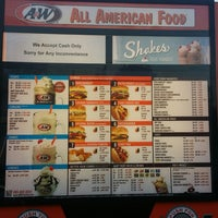 Photo taken at A & W All American Food Drive-In by J. F. on 6/28/2017